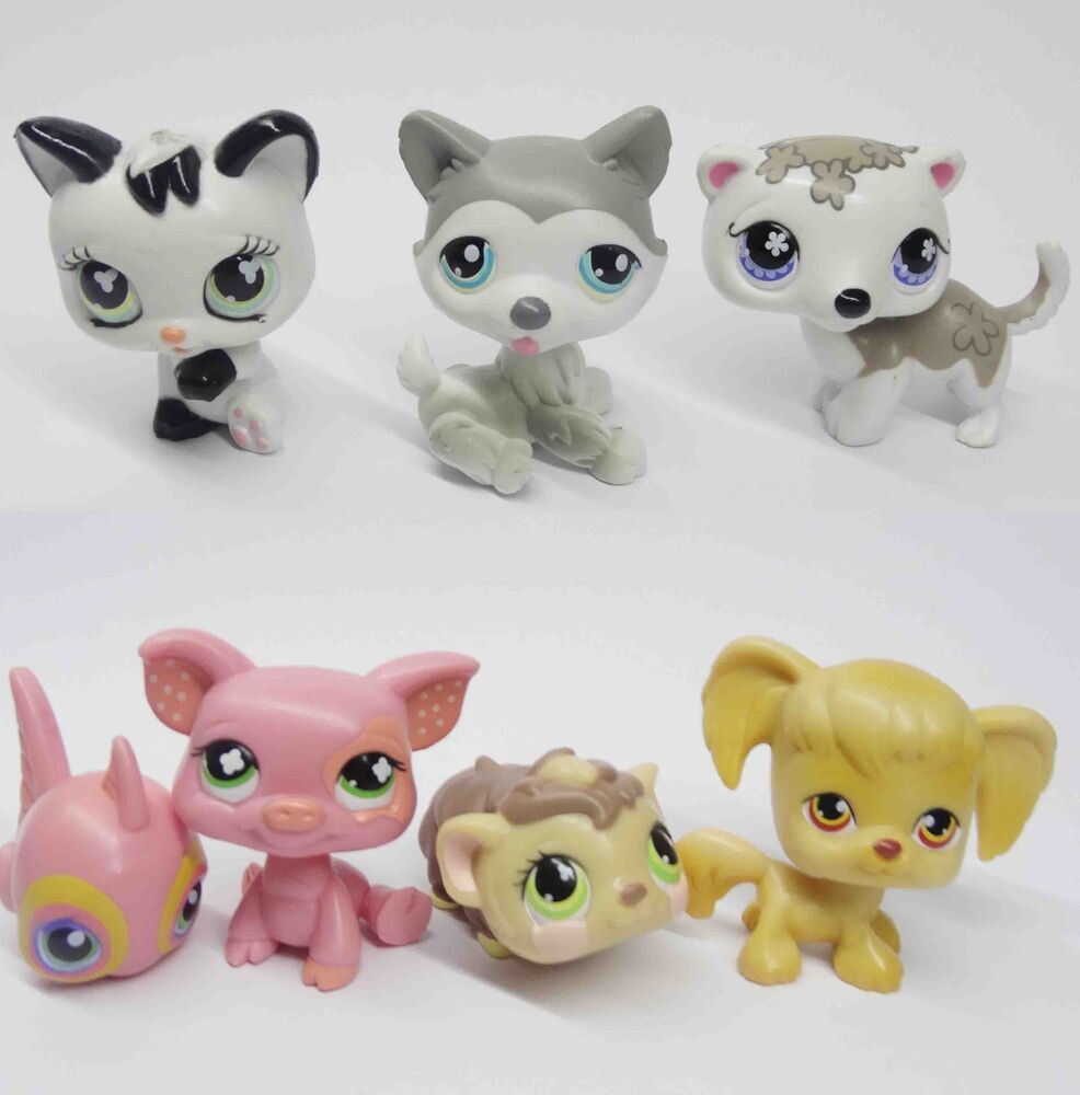Lps Cat And Dog Lot