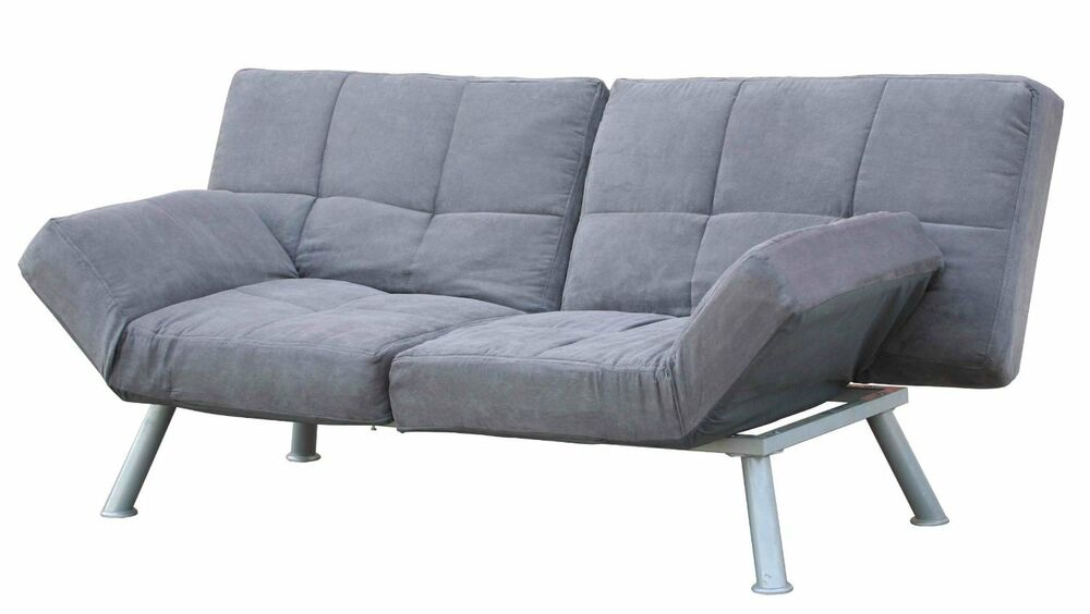 Futon Sofa Bed Modern Couch Mattress Convertible Tufted