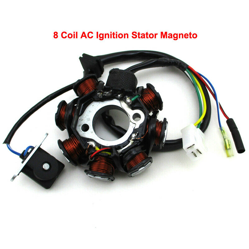 Moped 8 Coil AC Ignition Stator Magneto For GY6 50cc