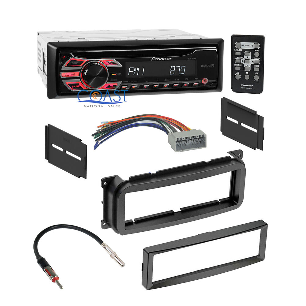 car radio stereo dash kit wire harness antenna for 2002 up. Black Bedroom Furniture Sets. Home Design Ideas