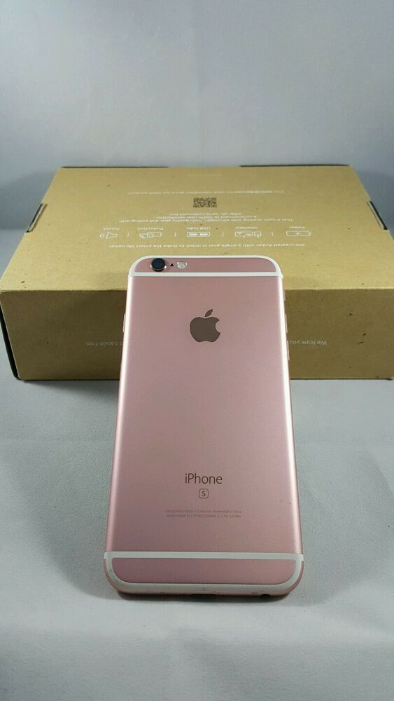 iphone 6 rose gold apple iphone 6s 16gb t mobile gold smartphone ships 15067