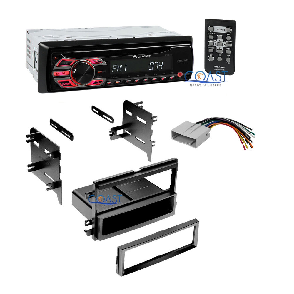 pioneer car radio stereo dash kit wiring harness for 2004. Black Bedroom Furniture Sets. Home Design Ideas