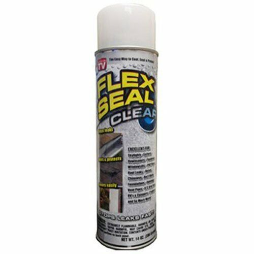 Leak Seal For Rubber : Flex seal clear ounce liquid rubber sealant coating