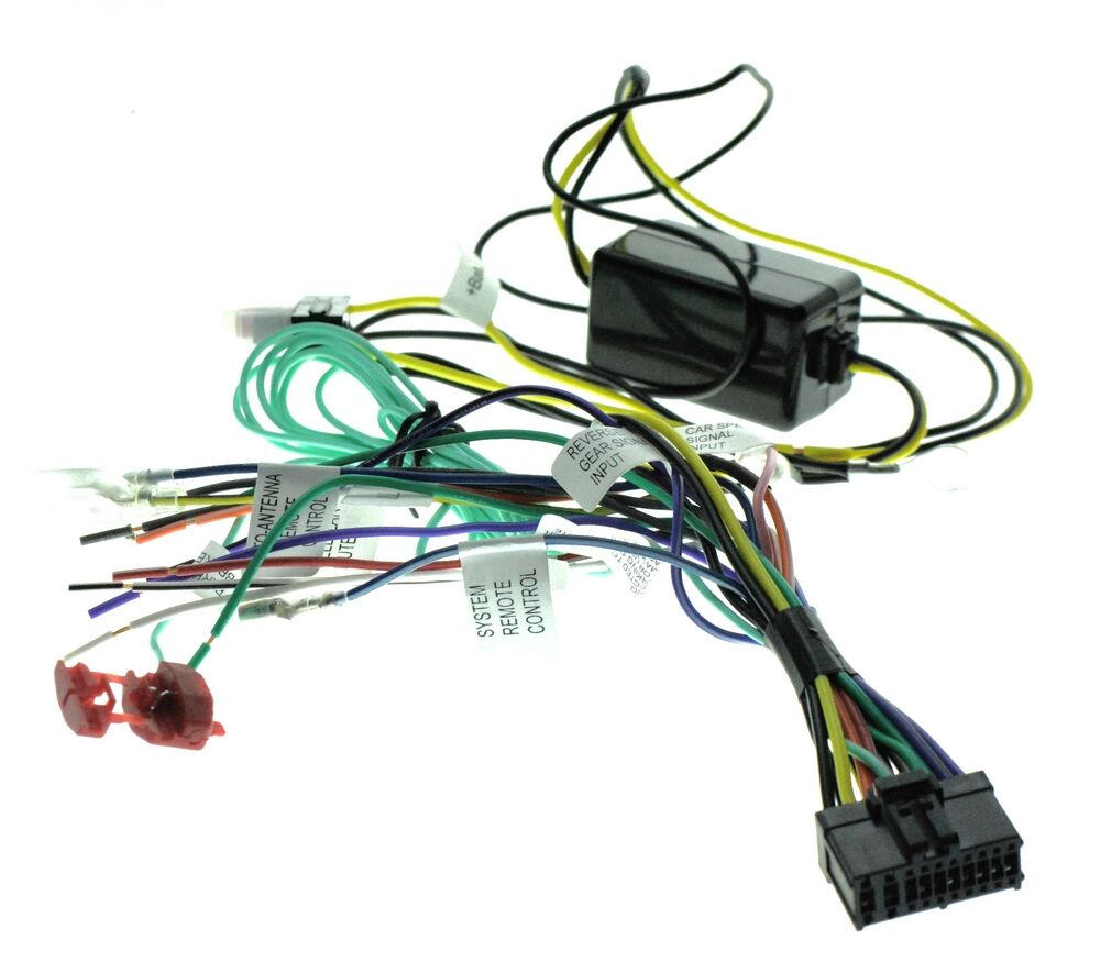 s l1000 car video bypasses wire harnesses ebay Pioneer Wiring Harness Diagram at n-0.co