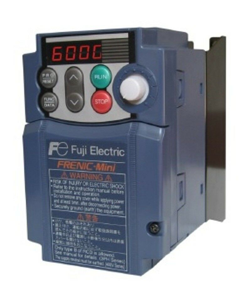 Fuji frn0006c2s 2u 1hp 230v 3ph in 230v 3ph out frenic for Vfd for 5hp motor