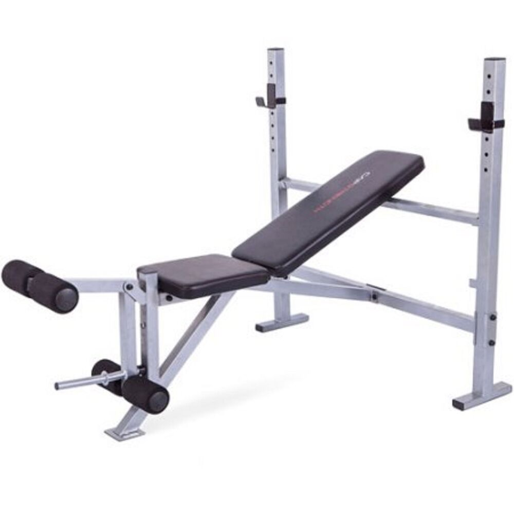 Cap Strength Mid Width Weight Bench Fitness Exercise Workout Gym Equipment Ebay