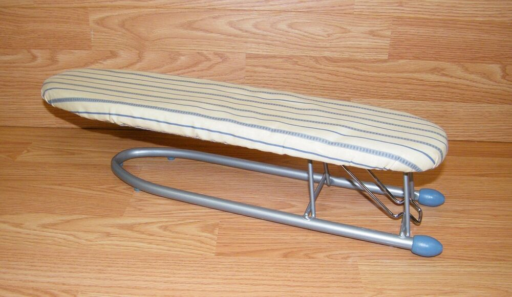 Portable Hanging Small Tabletop Ironing Board With Pad And