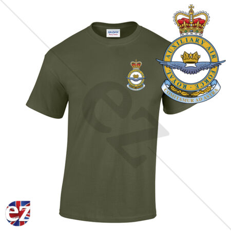 img-RAF Royal Auxiliary Air Force - Optional Veteran Badge and Rear Text