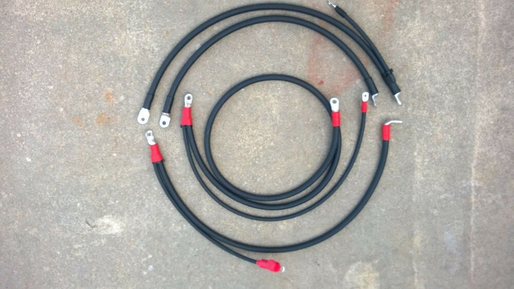 CHEVROLET GMC 6.5L TURBO DIESEL 2/0 BATTERY CABLES | eBay