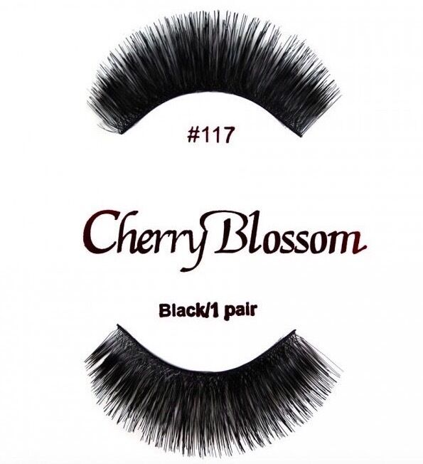 c2c0abb8638 Details about CHERRY BLOSSOM FALSE EYELASHES CHOOSE 1 TO 10 PAIRS OF QTY of  #117 LASHES