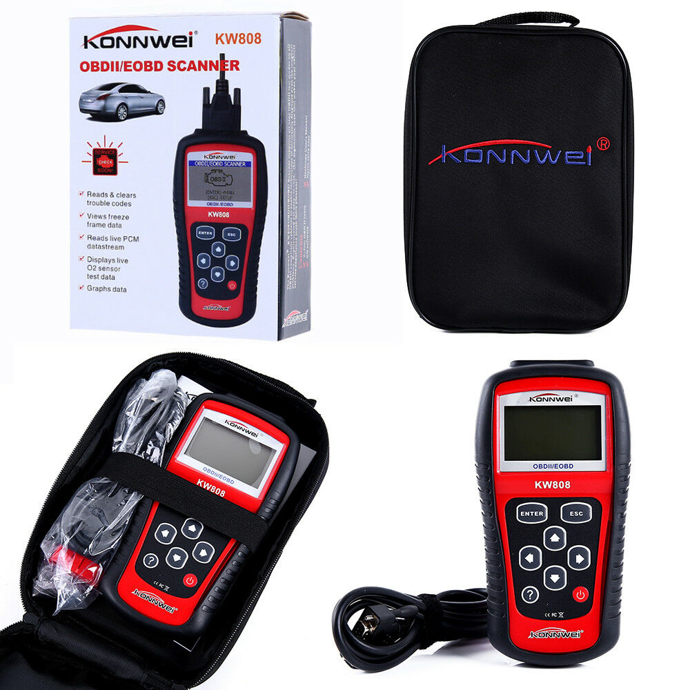 KW808 Autel Diagnostic Scanner Code Reader Car Tool