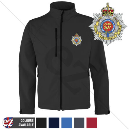 img-Royal Army Service Corps - RASC Softshell Jacket -Personalised text available