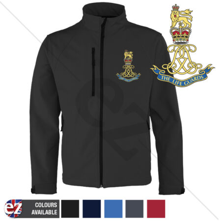img-Army Life Guards - Softshell Jacket - Personalised text available