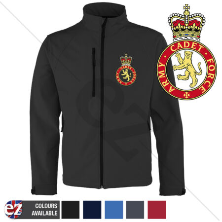 img-Army Cadet Force - ACF - Softshell Jacket - Personalised text available