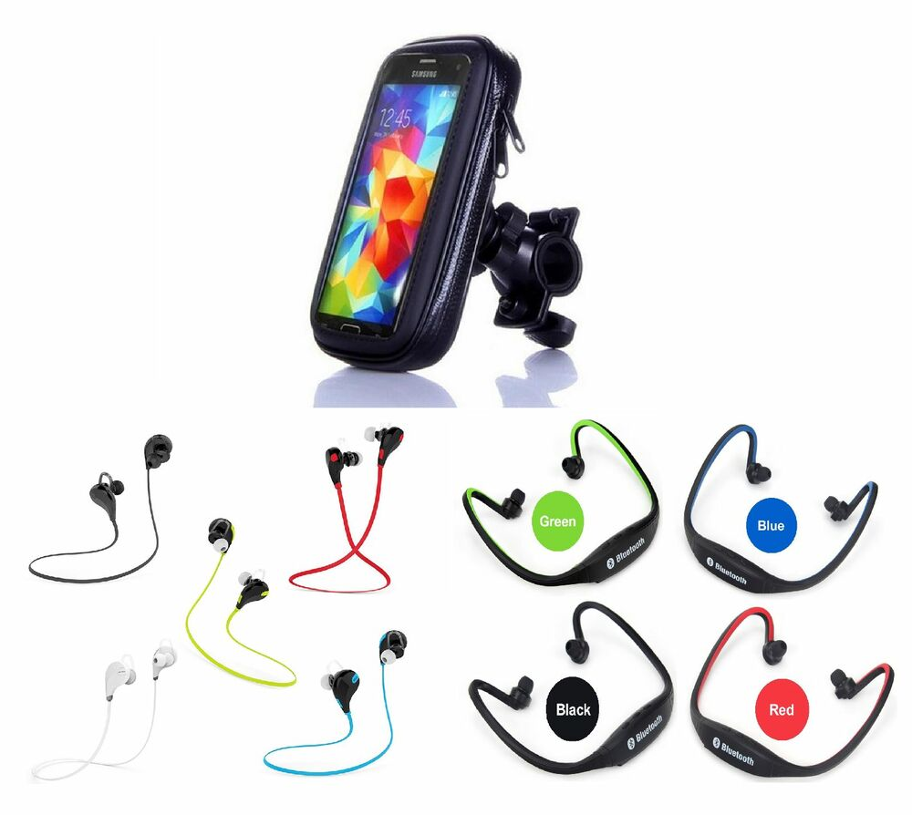 fahrrad motorrad handytasche sport bluetooth in ear. Black Bedroom Furniture Sets. Home Design Ideas