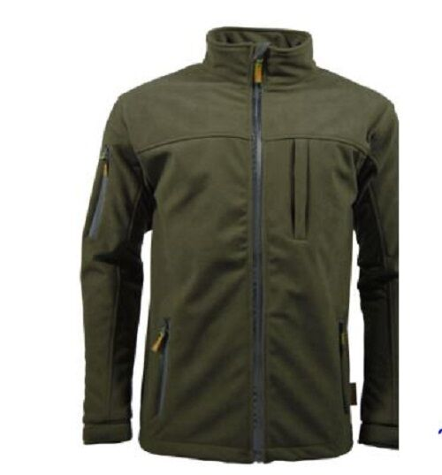 Game hunters green soft shell jacket hunting shooting for Green top hunt fish