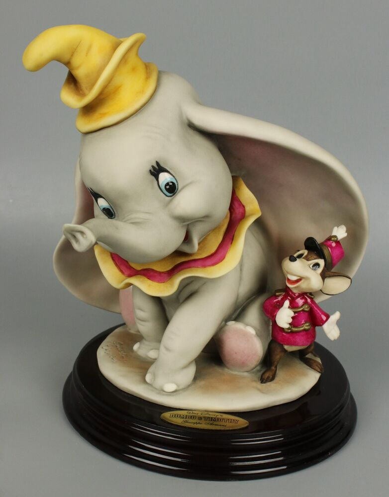 giuseppe armani disney figurine 1991c dumbo and timothy mint worldwide ebay. Black Bedroom Furniture Sets. Home Design Ideas