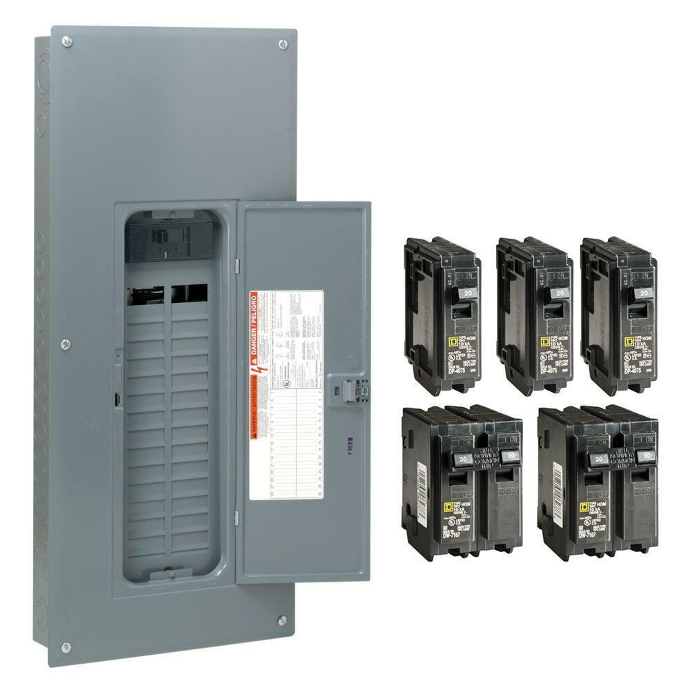 Square D 150 Amp 30 Space 60 Circuit Indoor Main Breaker