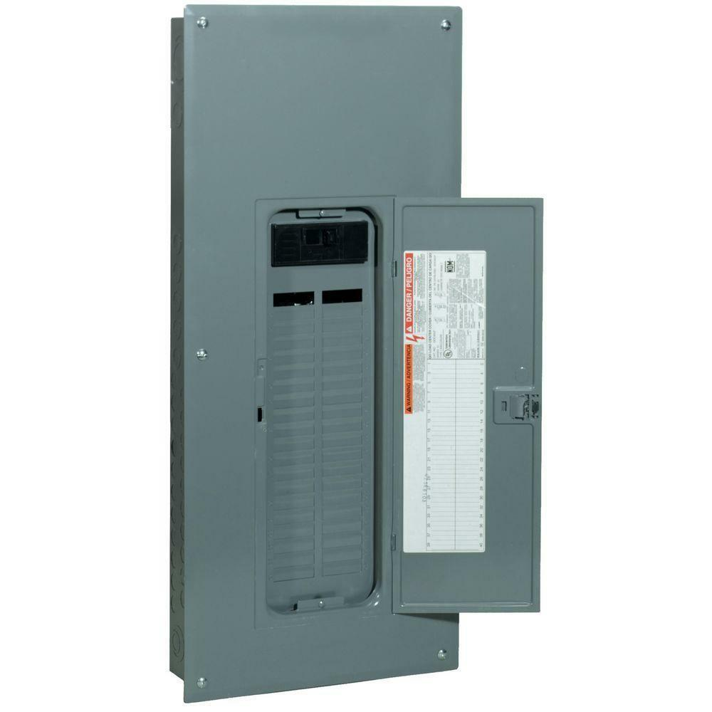 a 200 amp main breaker panel wiring a main breaker panel wiring square-d q0 200-amp 42-space-circuit indoor main-breaker ...