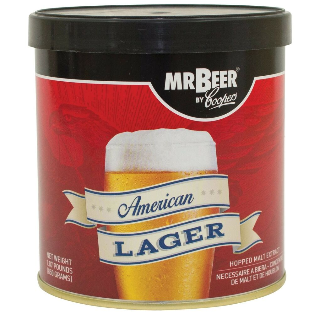 Mr beer american lager 2 gallon homebrewing craft beer for Home brew craft beer
