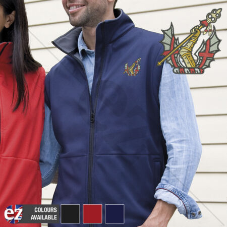 img-Honourable Artillery Company - Body Warmer with Embroidered Badge