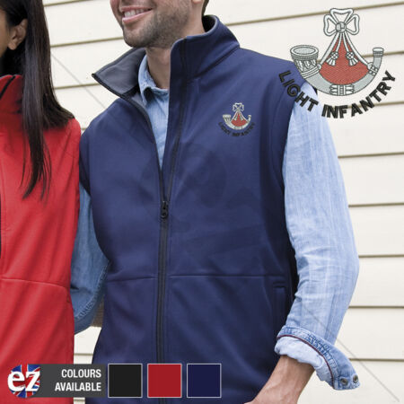 img-Light Infantry - Body Warmer with Embroidered Badge