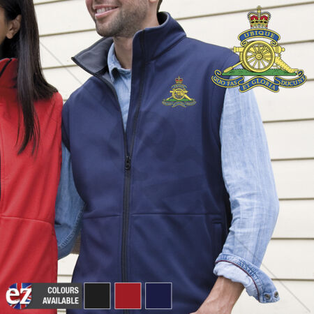 img-The Royal Artillery - Body Warmer with Embroidered Badge