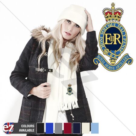 img-1 Royal Horse Artillery - Scarf - With Embroidered Badge