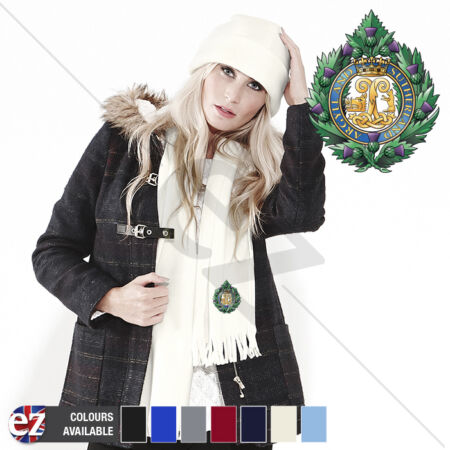img-Argyll and Sutherland Highlanders - Scarf - With Embroidered Badge