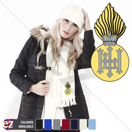 img-Royal Highland Fusiliers - Scarf - With Embroidered Badge