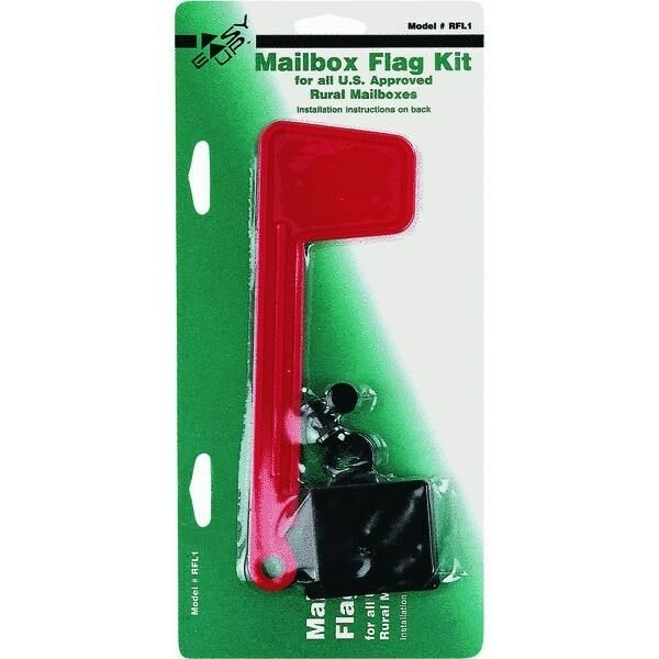 2 Pack Mailbox Flag Replacement Kit Fits Most Mailboxes