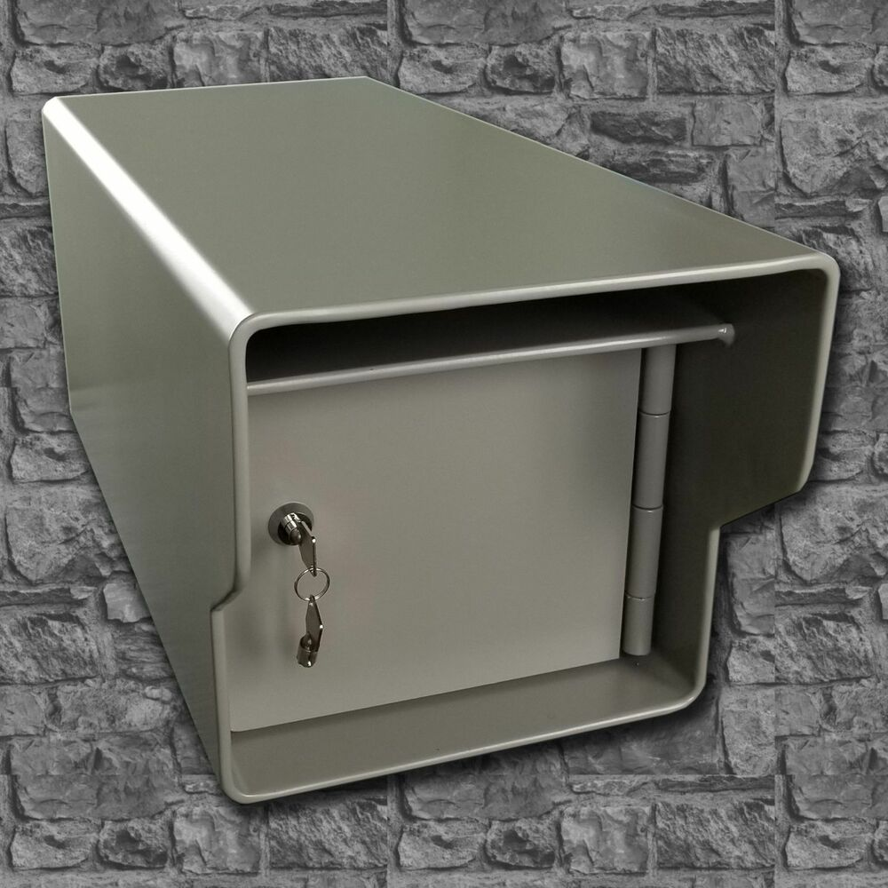 Extreme Heavy Duty High Security Locking Steel Mailbox All Welded 68 Pounds Ebay