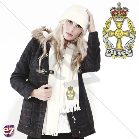 img-QARANC - Scarf - With Embroidered Badge