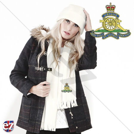 img-The Royal Artillery - Scarf - With Embroidered Badge