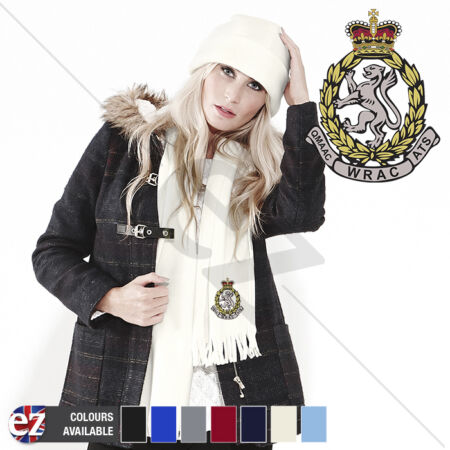 img-Womens Royal Army Corps - Scarf - With Embroidered Badge