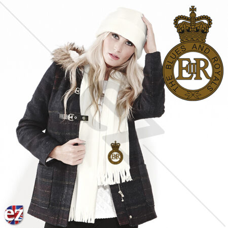 img-The Blues and Royals - Scarf - With Embroidered Badge