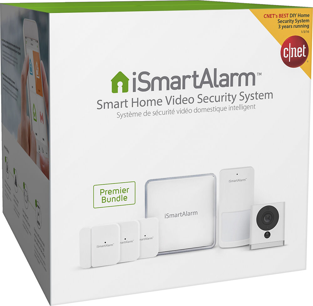 Ismartalarm smart home video security system premier for Look security systems