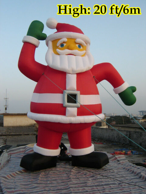 Ft m inflatable advertising promotion giant christmas