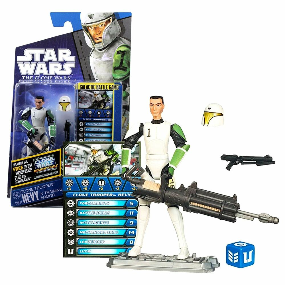Star Wars Toy Game : Star wars the clone cw trooper hevy in