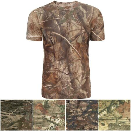 img-PLUS SIZE MEN'S JUNGLE PRINT T-SHIRTS TOP TREE CAMOUFLAGE CAMOBAT HUNTING SUMMER