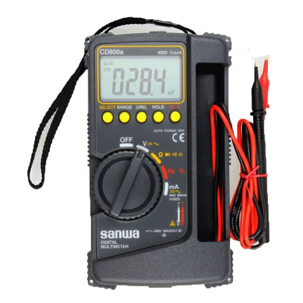 Bypass New Electrical Digital Meters : Sanwa digital multimeter cd a dmm volt counter