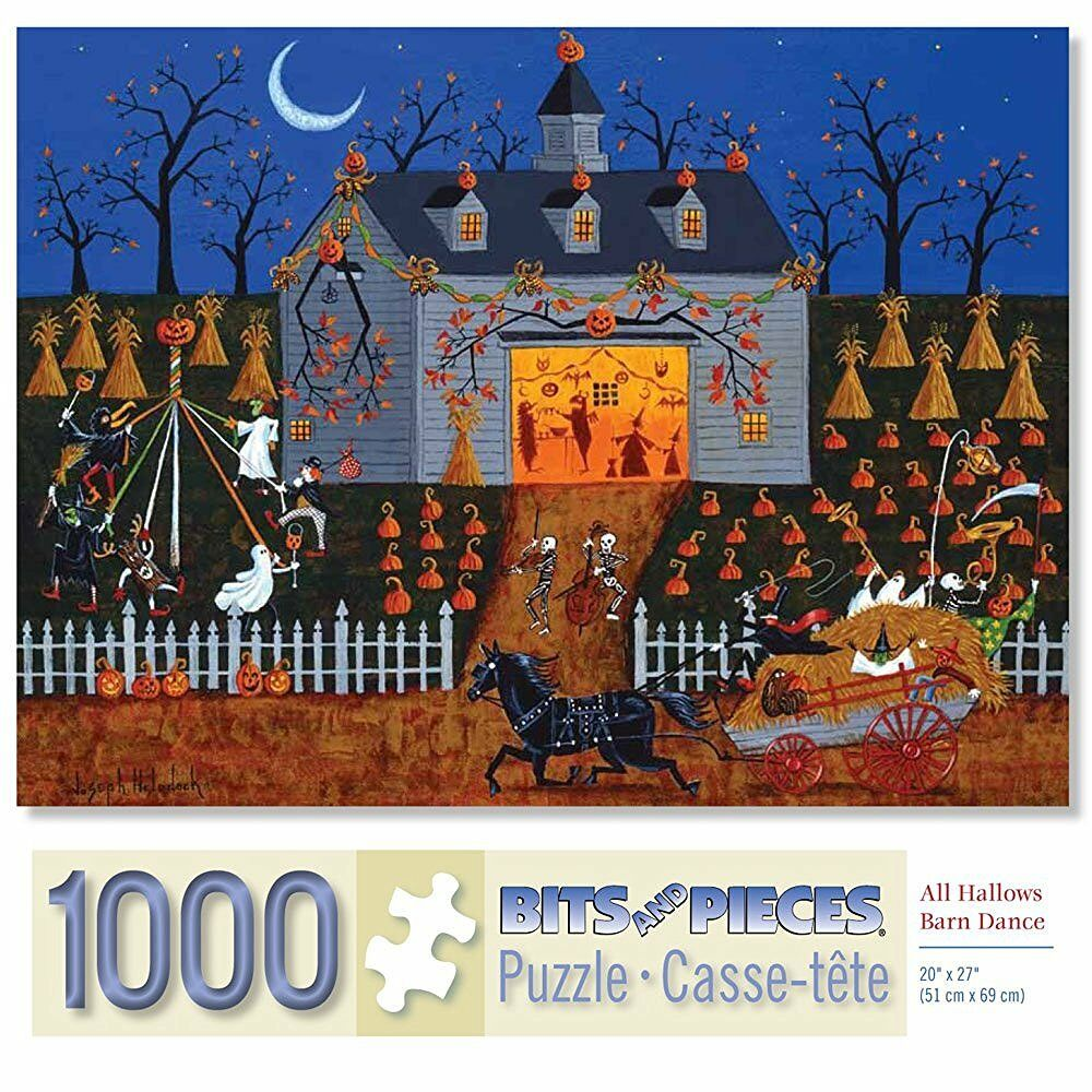 Bits And Pieces Puzzle 1000 Piece Puzzles Halloween Jigsaw ...