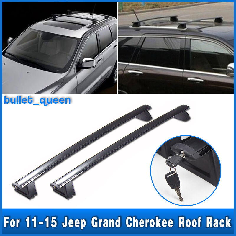 new for 2011 2016 jeep grand cherokee roof rack cross bars 82212072ac. Cars Review. Best American Auto & Cars Review