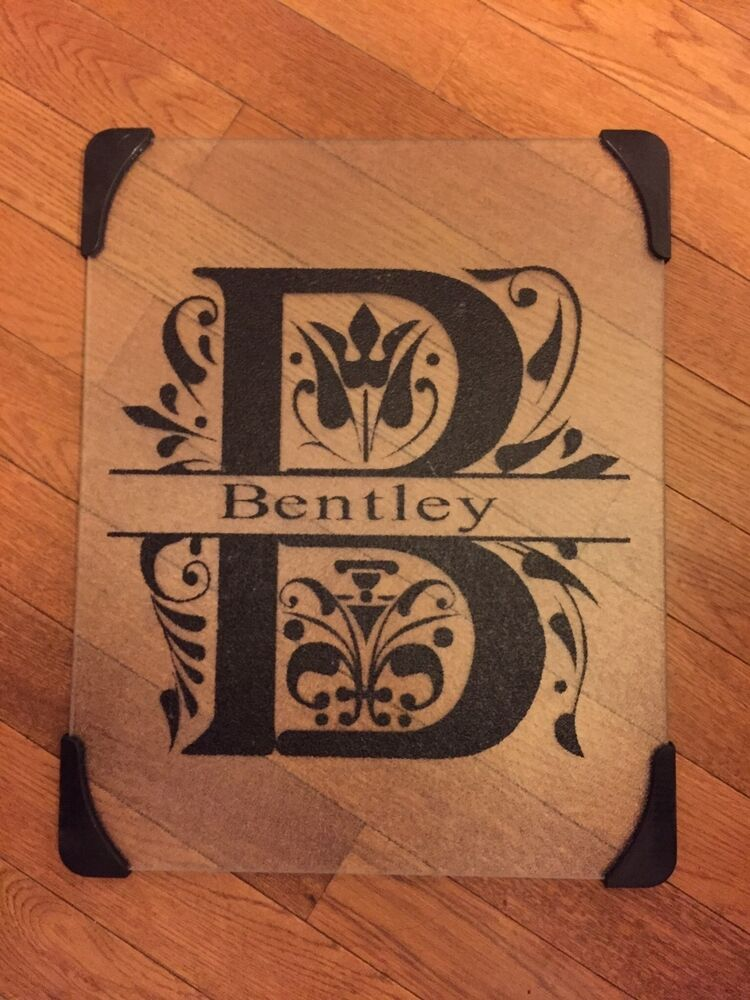 Personalized glass cutting board ebay - Tempered glass cutting board personalized ...