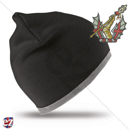 img-Honourable Artillery Company - Beanie Hat with Embroidered Badge