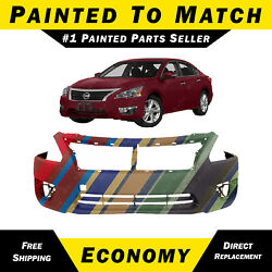Kyпить New Painted to Match- Front Bumper Cover Replacement for 2013-2015 Nissan Altima на еВаy.соm