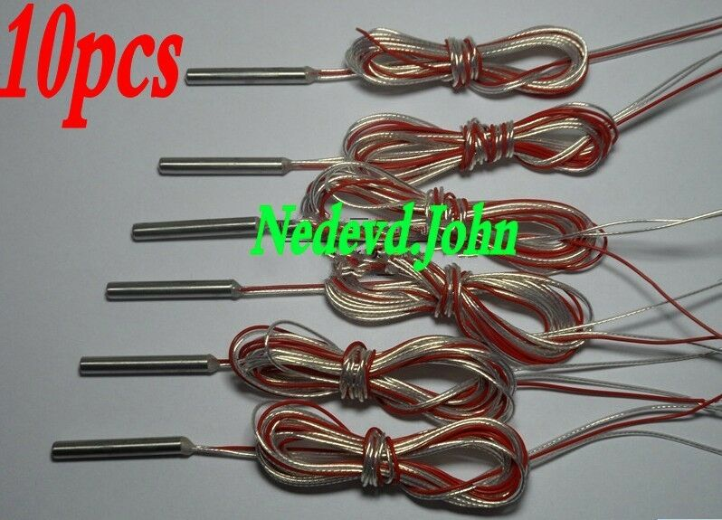 Rtd And Thermocouple Wire Resistance Cables Cables : Pcs rtd pt platinum resistance temperature sensor
