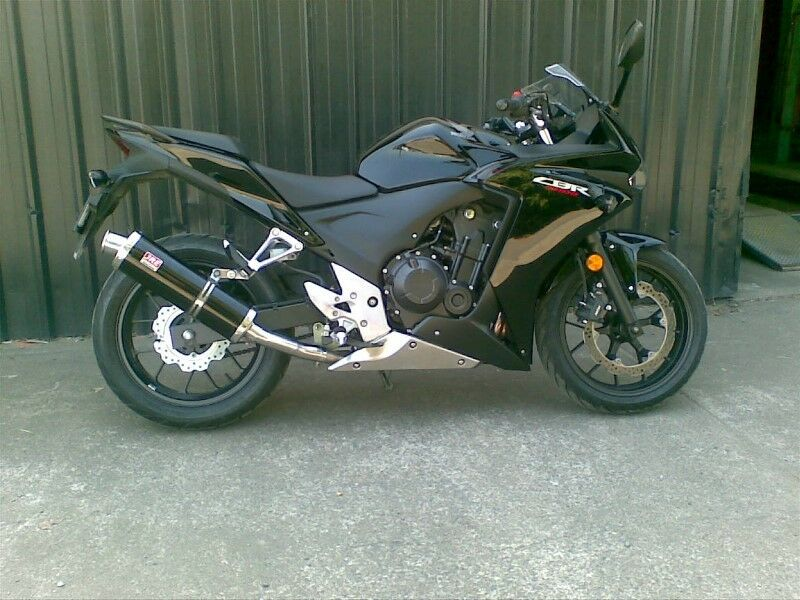 honda cbr500r 2013 new performance muffler cbr500f slip on exhaust 2016 cbr500 ebay. Black Bedroom Furniture Sets. Home Design Ideas