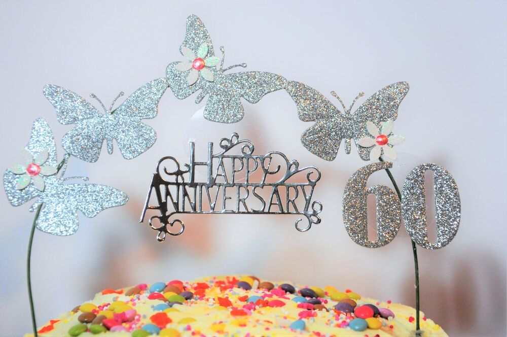 ruby wedding cake decorations uk butterfly wedding anniversary cake decoration topper 19446