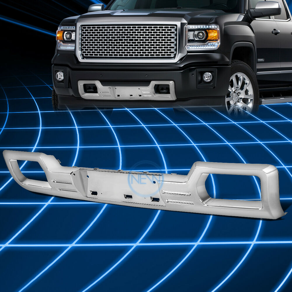 Chrome Denali Style Lower Front Bumper Grill Guard For